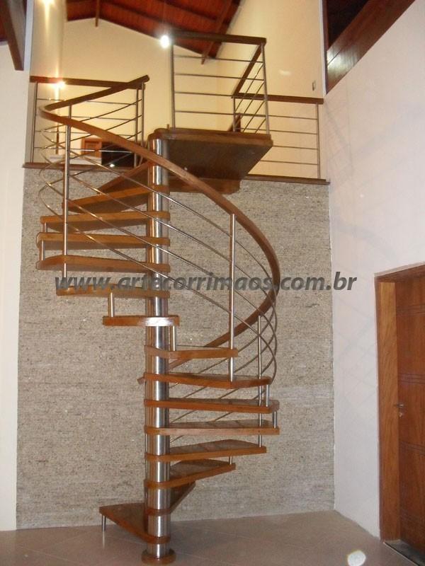 Escadas Caracol Escada Caracol Inox