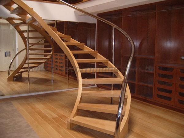 Muitas vezes Escada Curva - Arte Corrimãos e Escadas CC43