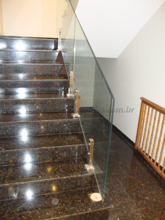 guarda corpo de vidro arte corrim os e escadas. Black Bedroom Furniture Sets. Home Design Ideas