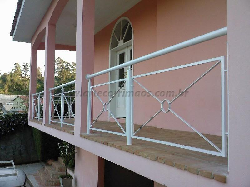 Muito guarda corpo de ferro corrimao - Arte Corrimãos e Escadas SO55