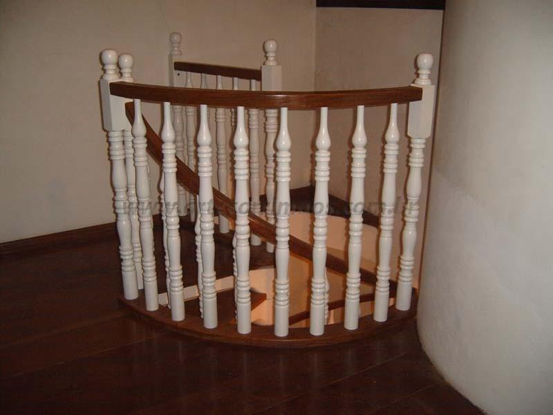 guarda corpo corrimao de madeira
