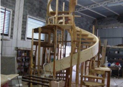 Escada especial em fabricação