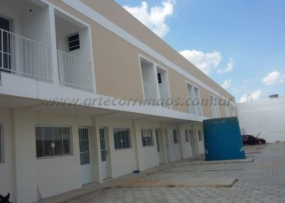 Guarda Corpo para 24 casas feito de Alumino