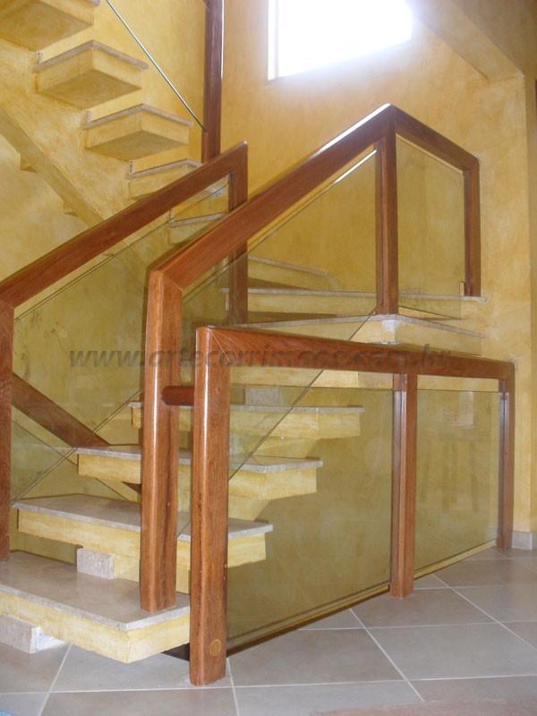Corrimao para escada