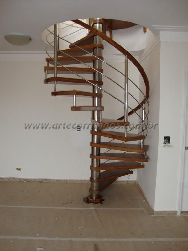 Escada Caracol Madeira Moderno Pictures