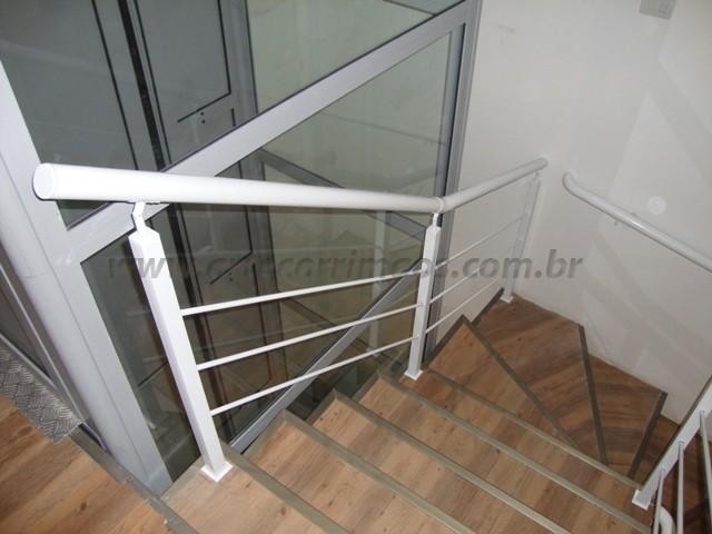 corrimao escada em ferro