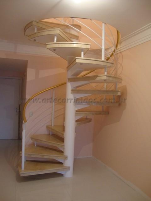 corrimaos de escada caracol