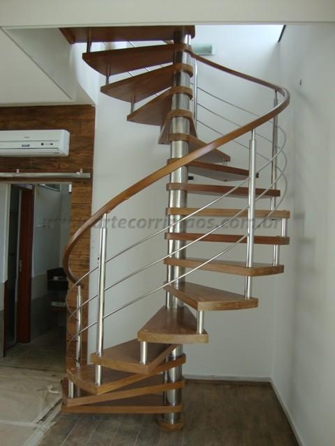 corrimãos escada caracol