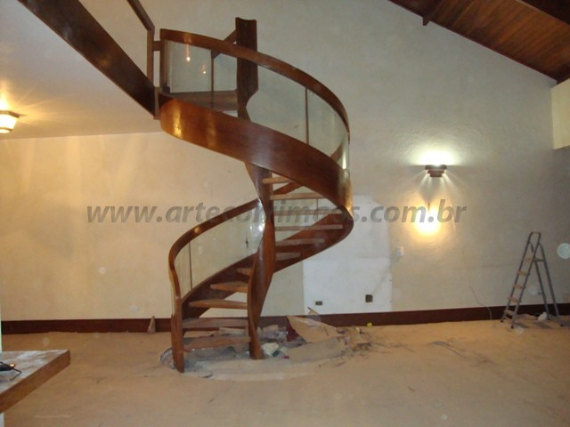 escada caracol especial