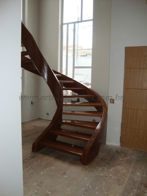 escadas curva
