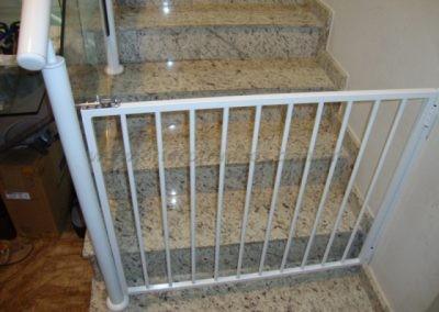 Portão de Aluminio escada