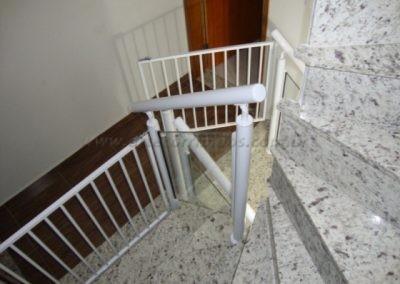 Portãozinho Aluminio branco