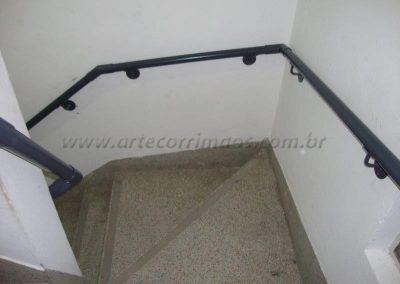 Corrimão de parede aço carbono norma NBR 9050