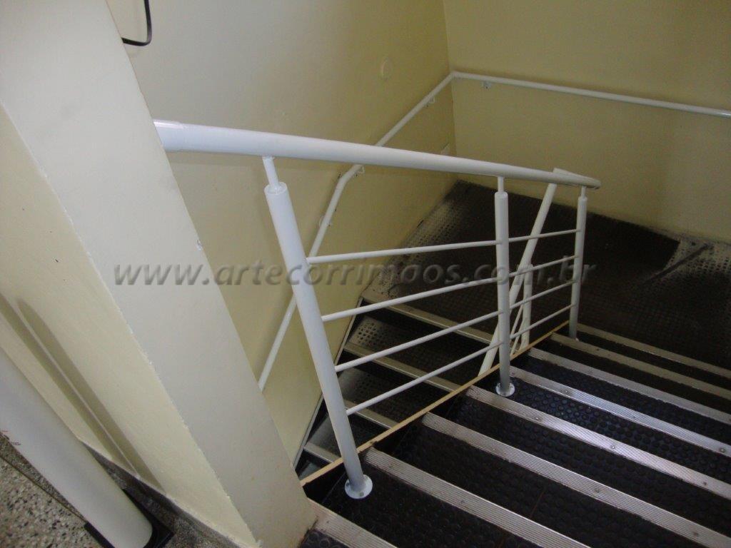Super Guarda Corpo de Ferro - Arte Corrimãos e Escadas QI68