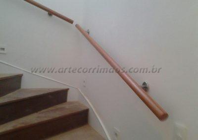 Corrimão de parede - Madeira para escada interna