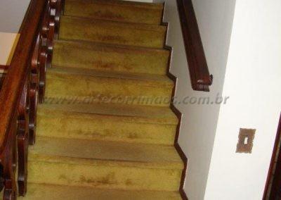 Corrimão de parede - Tauari - madeira escada