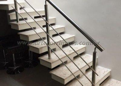 Escada Guarda corpo Inox 3 barrinhas