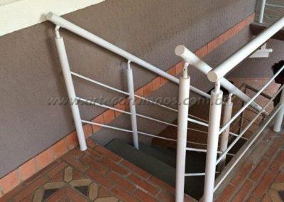 Guarda corpo - Aluminio para escada