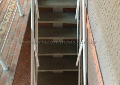 Guarda corpo Aluminio para escadas