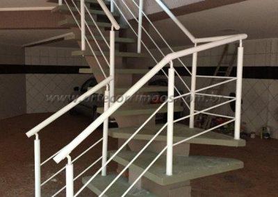 Guarda corpo - Aluminio para escadas preço justo
