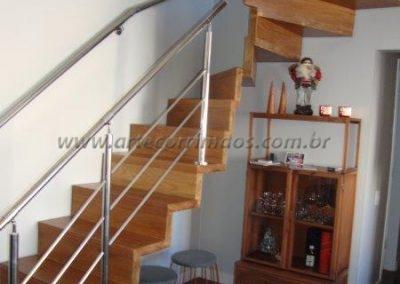 Guarda corpo - Inox 3 barrinhas paea escada