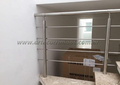 Guarda corpo - Inox 4 barras