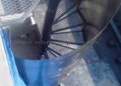 escada caracol fabrica