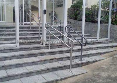 Guarda Corpo Acessibilidade Simples entrada