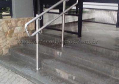 Guarda Corpo Acessibilidade Simples escada