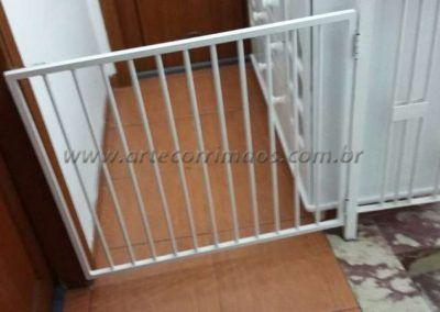 portãozinho de aluminio branco