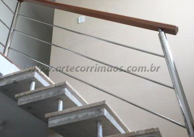 GUARDA CORPO INOX E MADEIRA 6